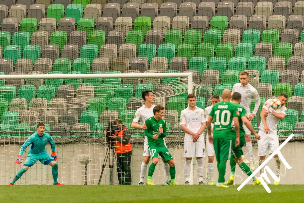 Nogometna tekma Rudar Velenje vs Olimpija v , Ljubljana, Slovenija dne 07042019, Photo: Milan Tomazin studioMiT.si