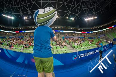 Volleyball Challenger Cup FIVB Slovenia vs Chile v Stozice, Ljubljana, Slovenija dne 03072019, Photo: Milan Tomazin studioMiT.si