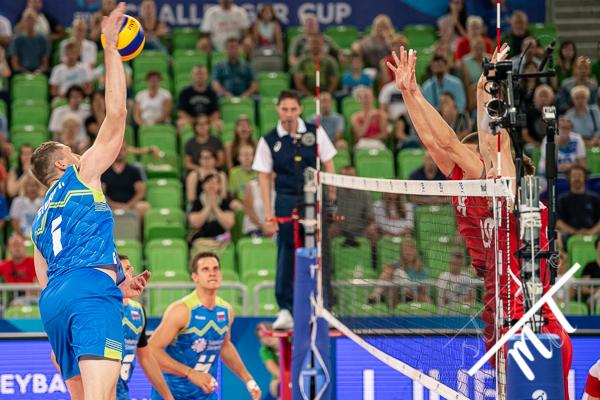 Volleyball Challenger Cup FIVB Slovenia vs Belarus v Stozice, Ljubljana, Slovenija dne 06072019, Photo: Milan Tomazin studioMiT.si