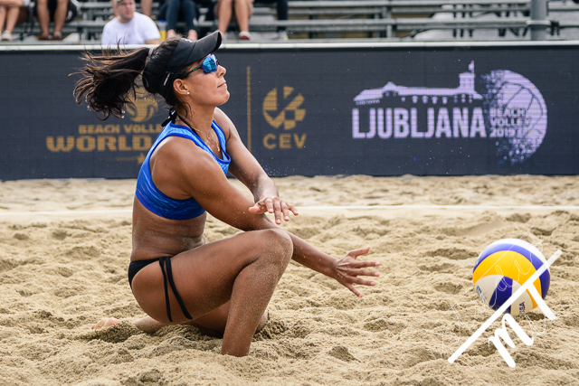 Beach Volleyball World Tour Ljubljana v Kongresni Trg, Ljubljana, Slovenija dne 03082019, Photo: Milan Tomazin studioMiT.siPriprave za Ljubljanski maraton 2019, on June 1, 2019, in Mostec, Ljubljana, Slovenia. Photo by Milan Tomazin / Sportida