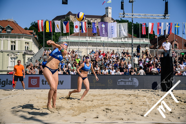 Beach Volleyball World Tour Ljubljana v Kongresni Trg, Ljubljana, Slovenija dne 03082019, Photo: Milan Tomazin studioMiT.si
