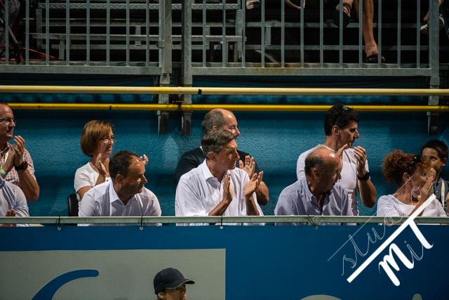 Viktor Durasovic of Norway VS Aljaz Bedene of Slovenia in the Final match at Day 10 of ATP Challenger Zavarovalnica Sava Slovenia Open 2019ATP CHALLENGER ZAVAROVALNICA SAVA SLOVENIA OPEN 2019 v Sport center, Potoroz, Slovenija dne 18082019, Photo: Milan Tomazin studioMiT.si