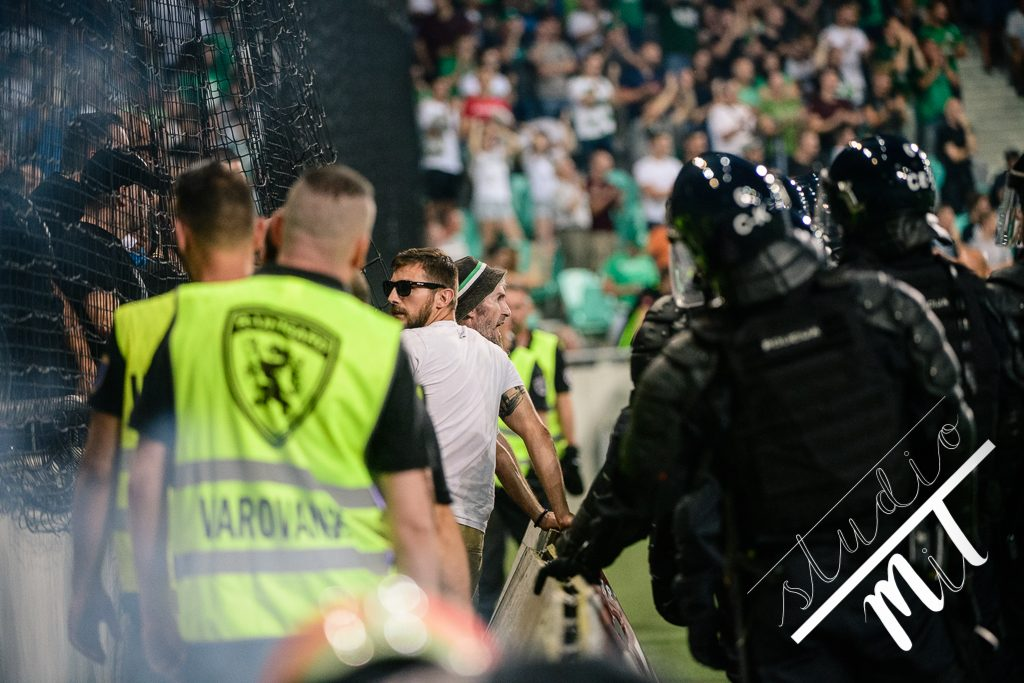 Nogometna tekma Olimpija vs Malatyaspor v Stozice, Ljubljana, Slovenija dne 01082019, Photo: Milan Tomazin studioMiT.si